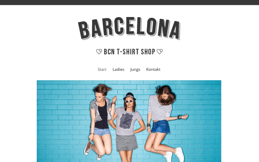 Store Fashion Webshop Design