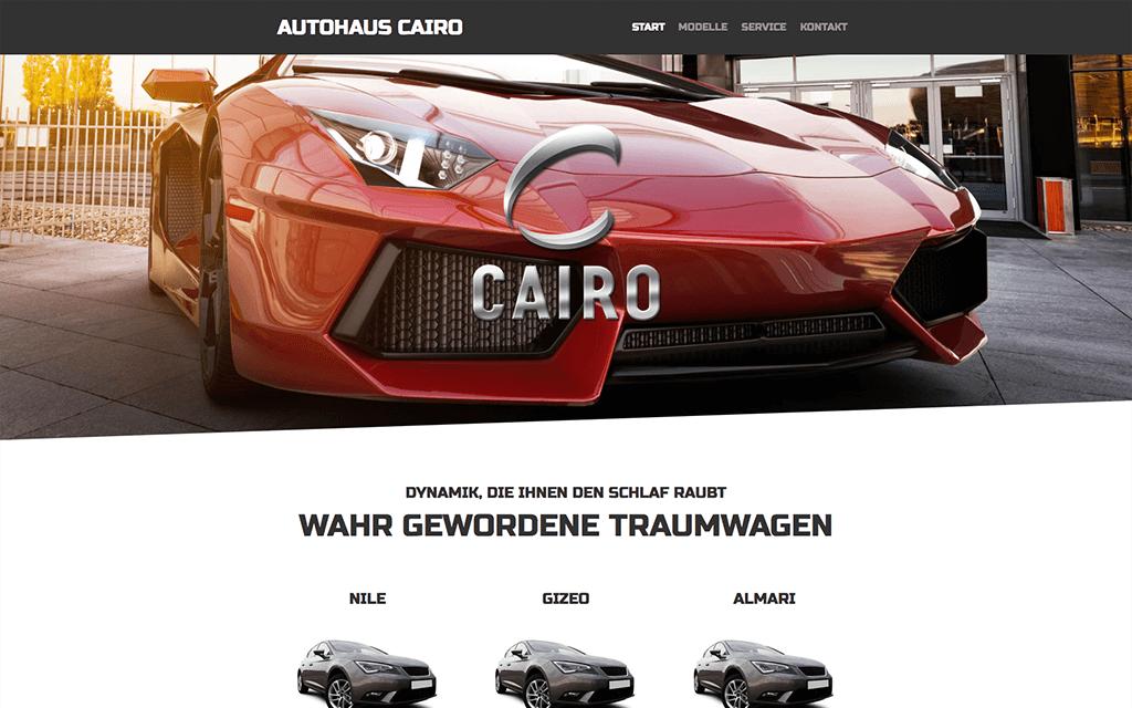 Autohaus Website Design