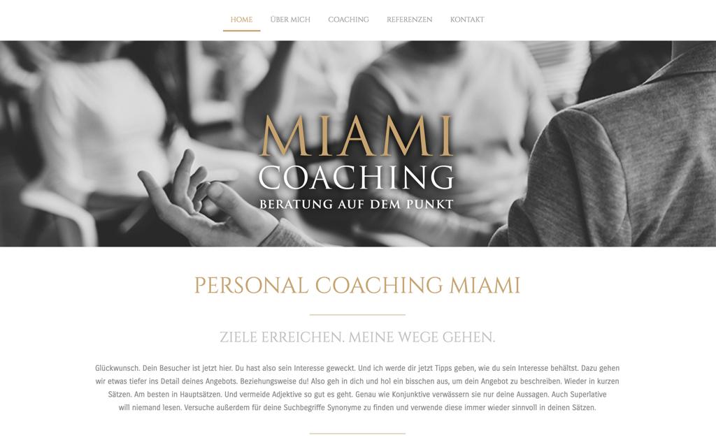 Homepage-Vorlagen | Schönes Design für deine Website - Jimdo