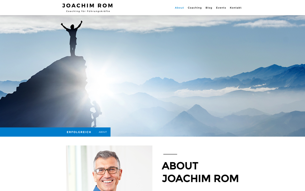 Coach Website Design