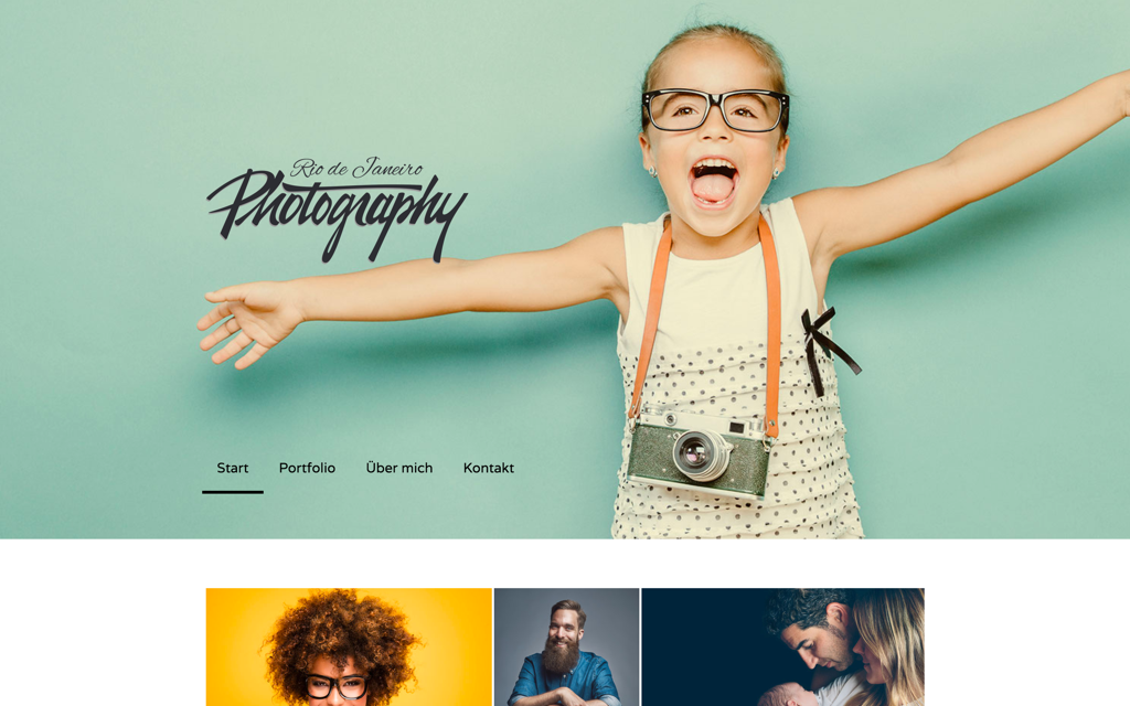 Photograf Website Design