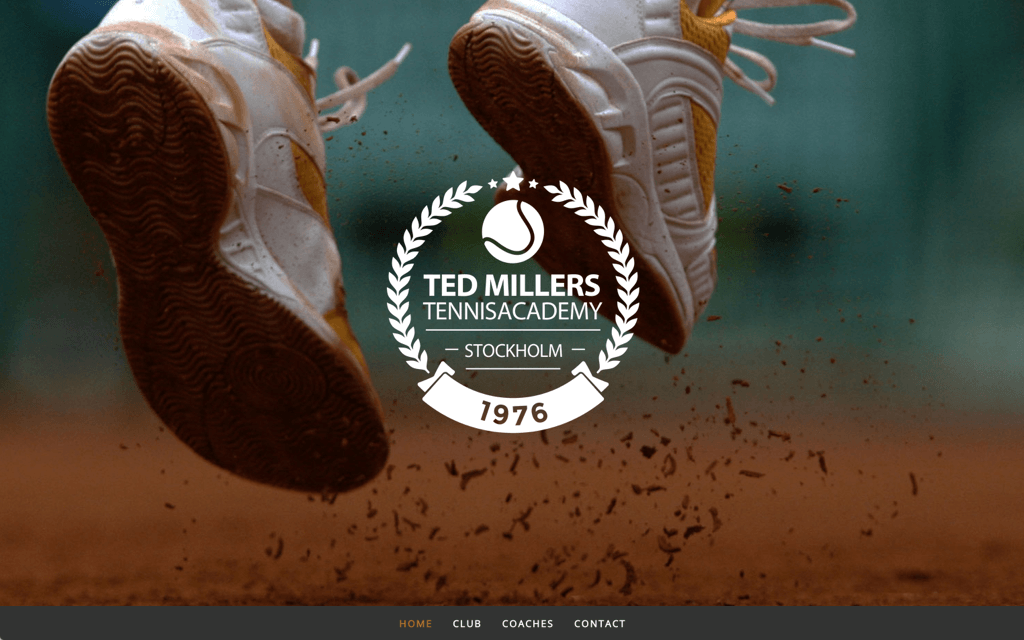 Tennisclub Website Design